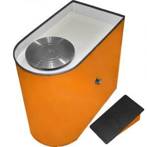 Гончарный круг iMold Basic оранжевый (педаль)