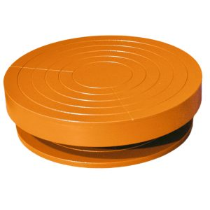 Турнетка металлическая оранжевая 220/55 iMold